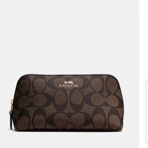 Coach Cosmetic Case-Brown